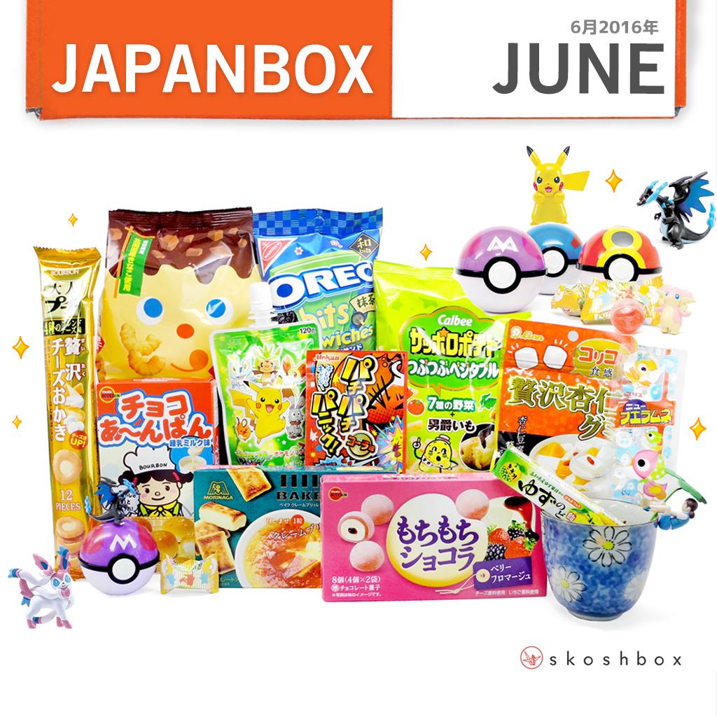 June 2016 Japan Box