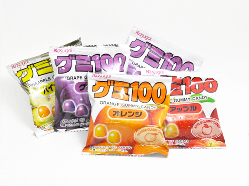 Kasugai Fruit Gummies
