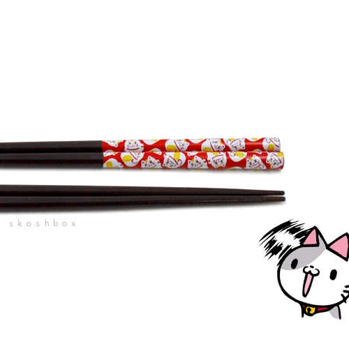 Maneki-Neko Chopsticks