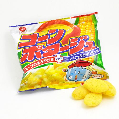 Corn Potage Puffs