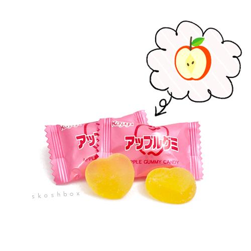 Kasugai Gummy: Apple