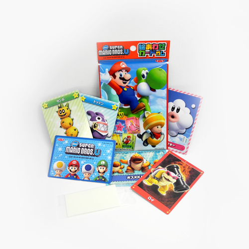 Super Mario Gum + Card Game