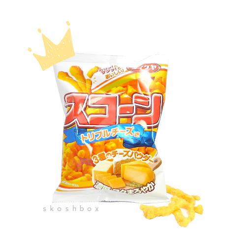 S'corn: Triple Cheese