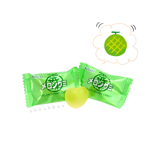 Juicy Melon Gummies