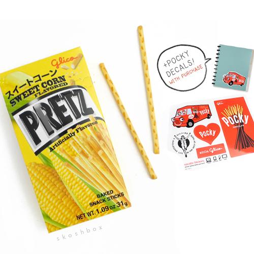 Pretz: Sweet Corn Sticks