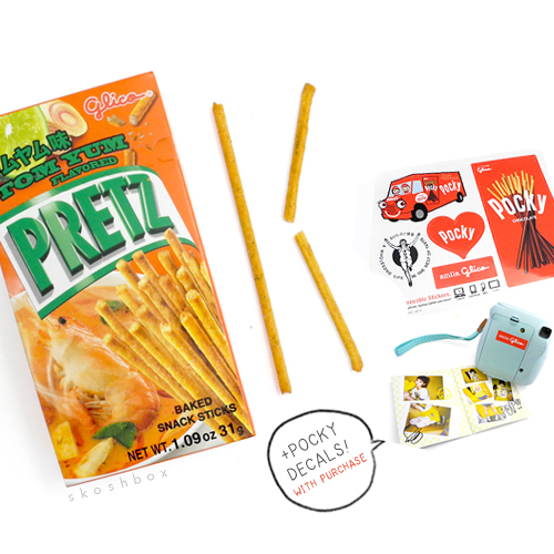 Pretz: Tom Yum Soup Sticks