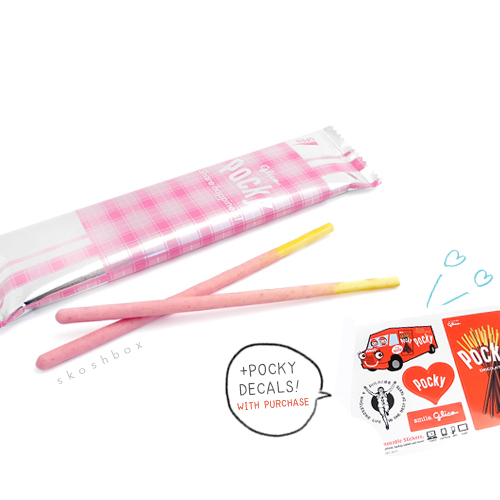 Pocky Strawberry Cream