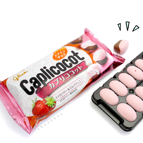 Caplicocot: Pop Out Strawberry Chocolate