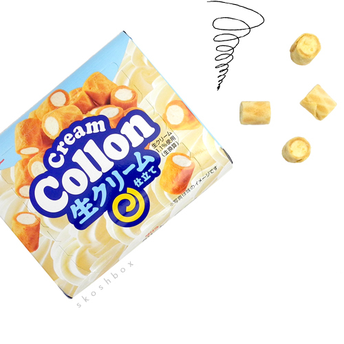 Cream Collon Box