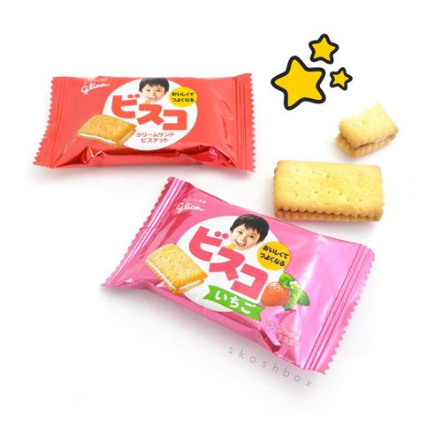 Bisco: Assorted Biscuit Cream Sandwich