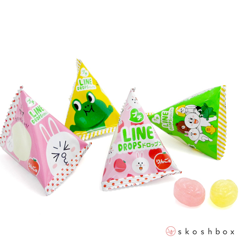 Line Character Candy