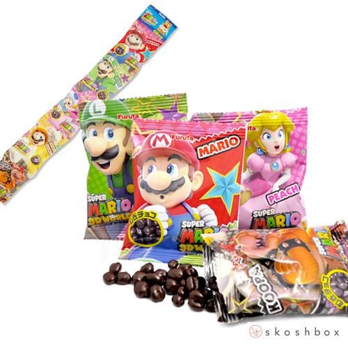 Mario Chocolate Crisps