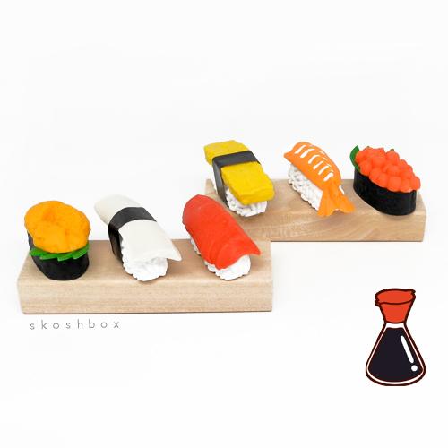 Nigiri Sushi Eraser