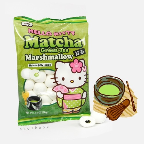 Hello Kitty Matcha Marshmallow