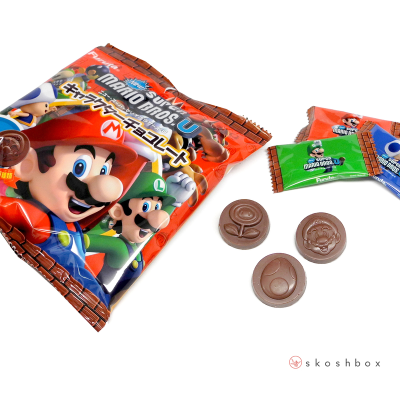 Mario Coin Chocolates