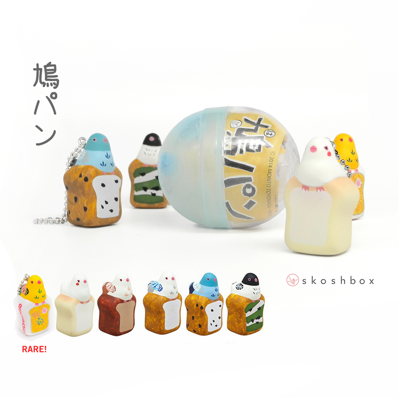Gacha Toy: HATOPAN Bird Bread