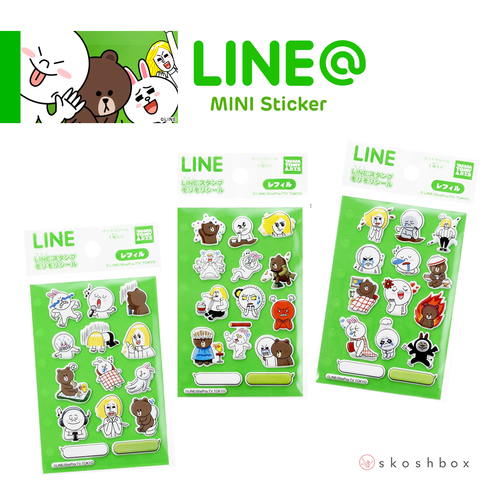 Line Character Stickers