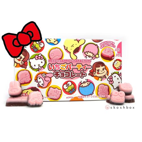 Peko x Sanrio Ichigo Chocolate