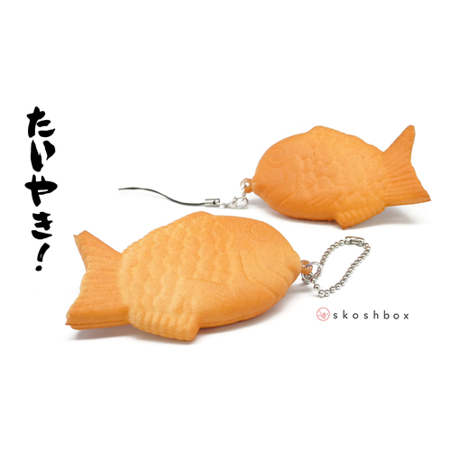 Taiyaki Squishy Strap