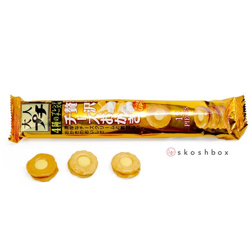 Zeitaku Cheese Okaki Senbei