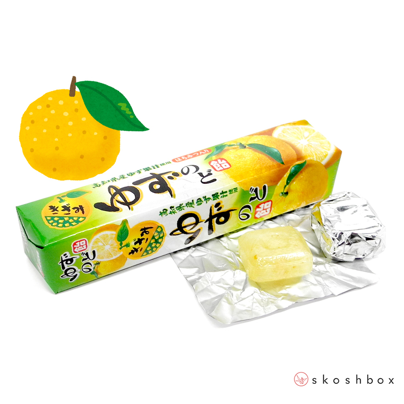 June 16 yuzu nodoame candy