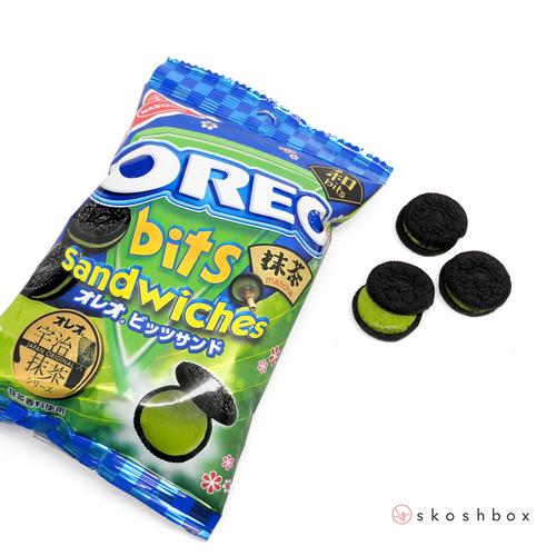 Oreo Bits: Matcha Cream