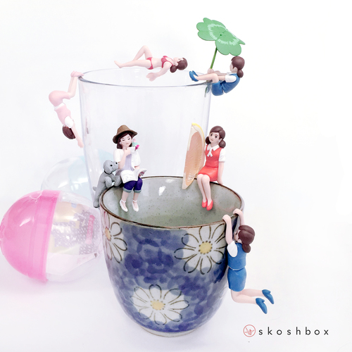 Gacha Toy: Fuchico On Cup