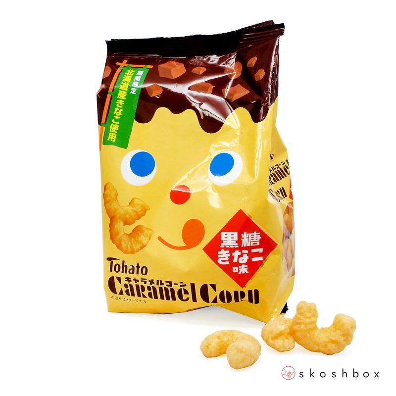 June 16 caramel corn kinako