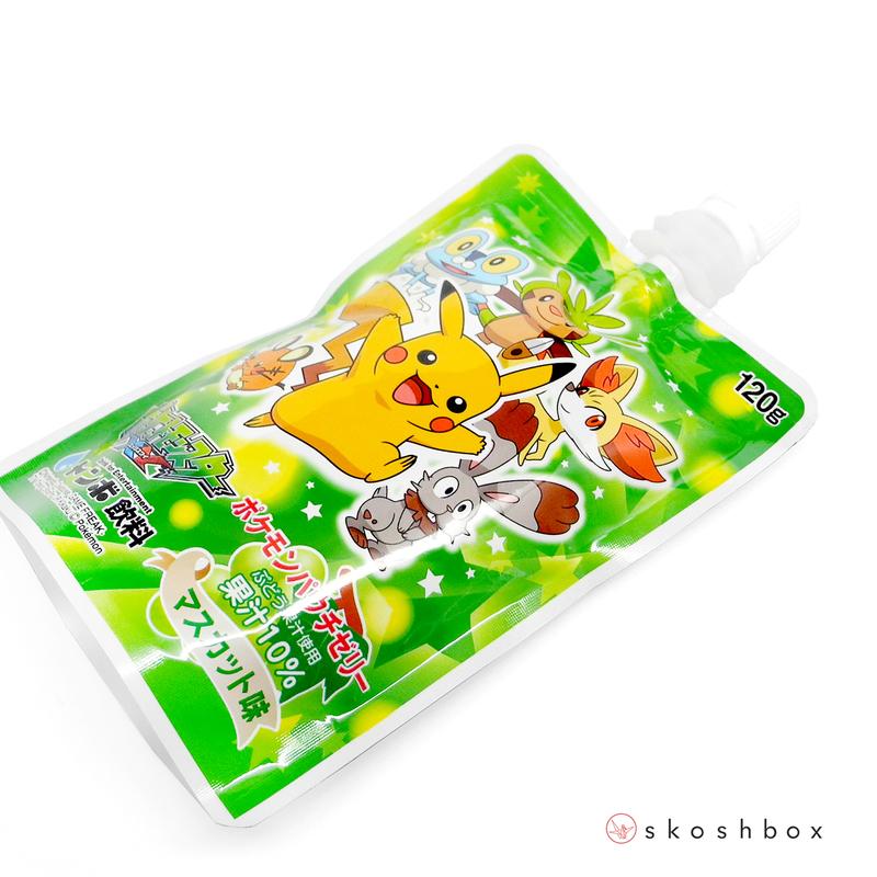 June 16 pokemon pouch jelly drink muscat