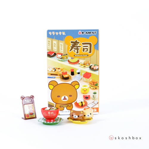 Rilakkuma Kaiten Sushi Toy