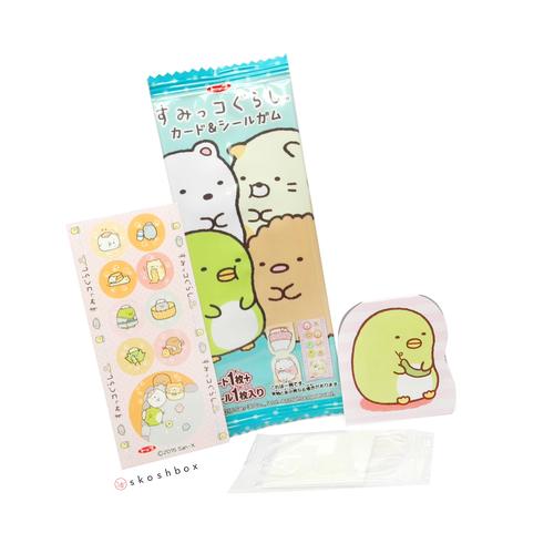 Sumikko Gurashi Sticker Gum