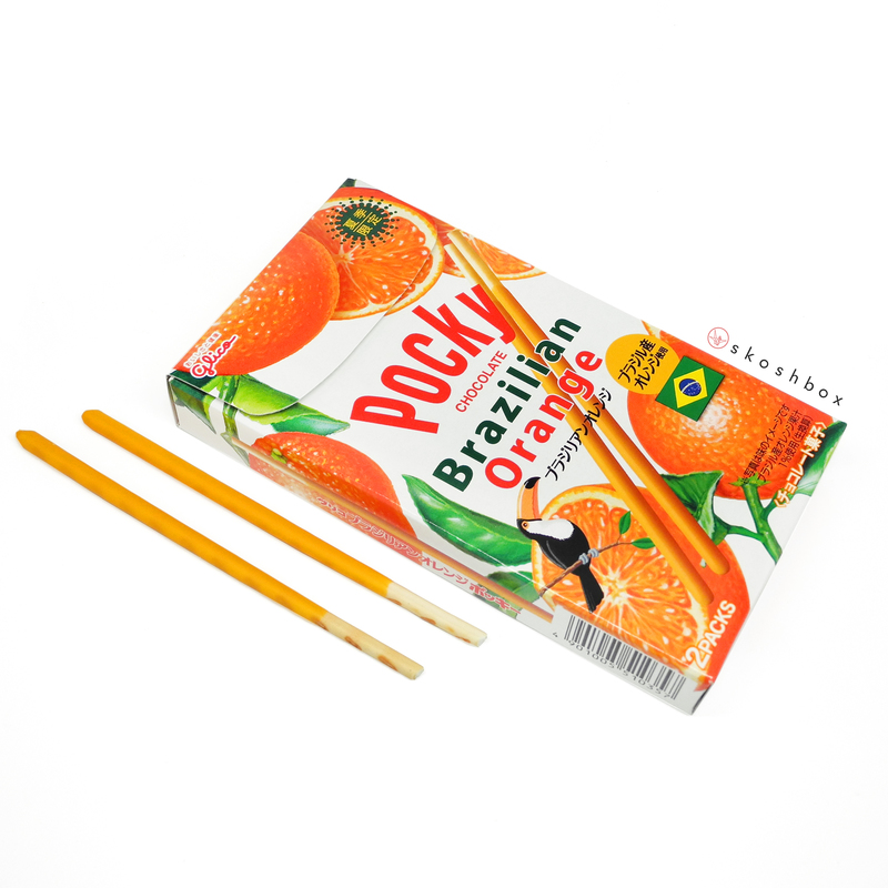 Aug 16 pocky brazilian orange