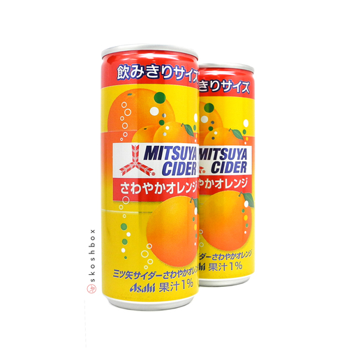 Mitsuya Orange Cider