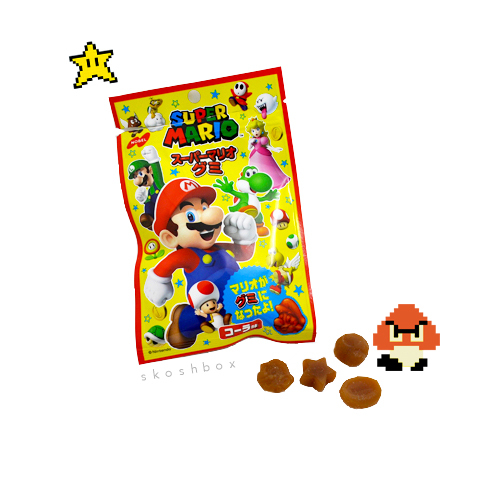 Super Mario Cola Gummy