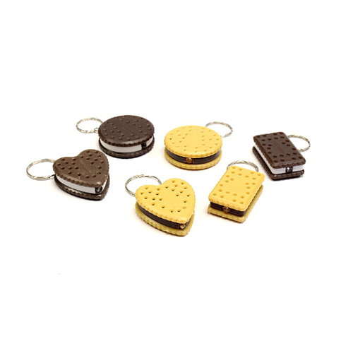 Cookie Light Keychain