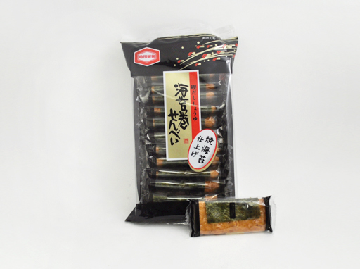 Nori Wrapped Senbei
