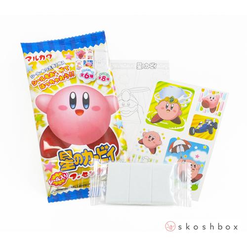 Star Kirby Gum & Seal Set