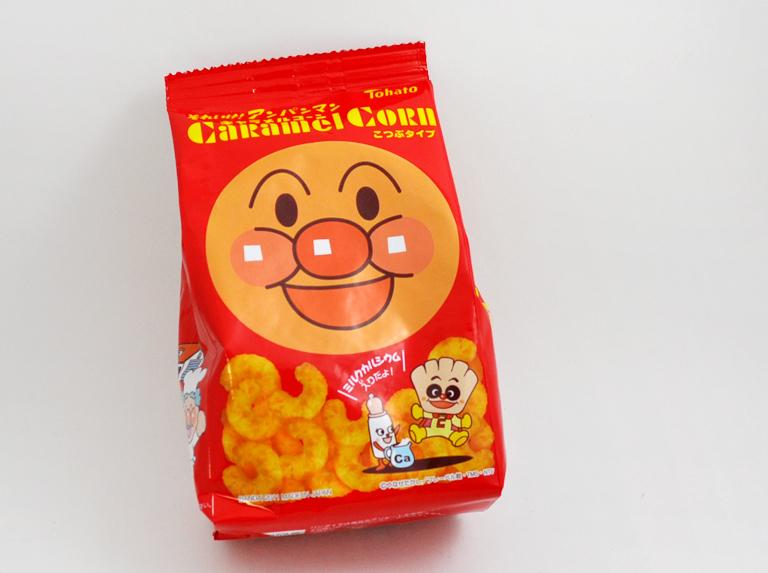 Caramel Corn: Anpanman